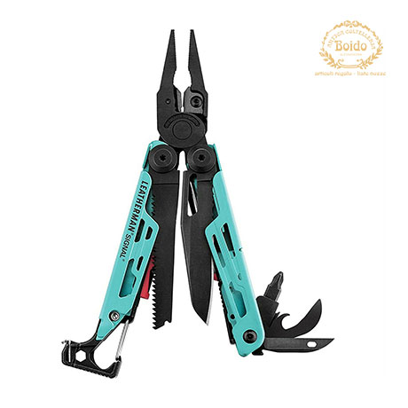 Mini Pinze Leatherman Signal Aqua