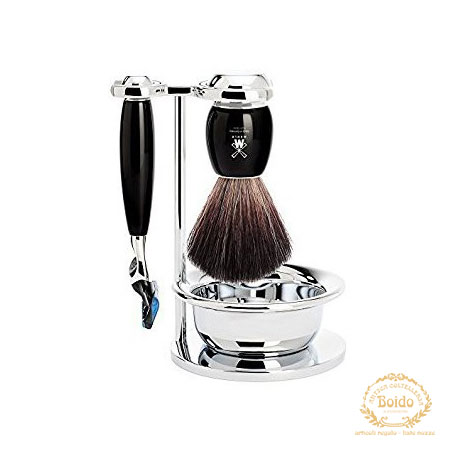 Set barba nero Fusion Muhle